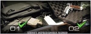 Transporte de armas de Airsoft. Normas básicas.