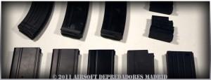 Cargadores Airsoft