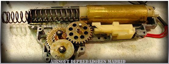 Airsoft, mantenimiento de las réplicas