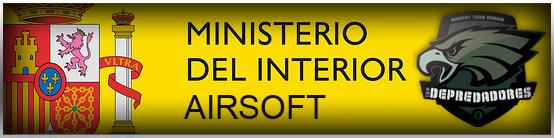Proyecto del nuevo reglamento de armas incluyendo airsoft for Direccion ministerio del interior madrid