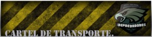 cartel transporte airsoft