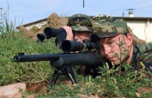 Sniper en horario de oficina