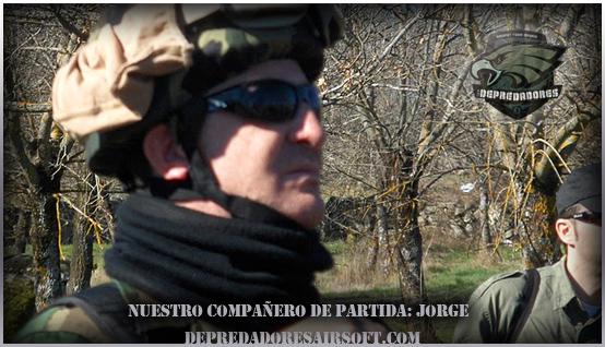 Jorge en la partida CEB el Boalo