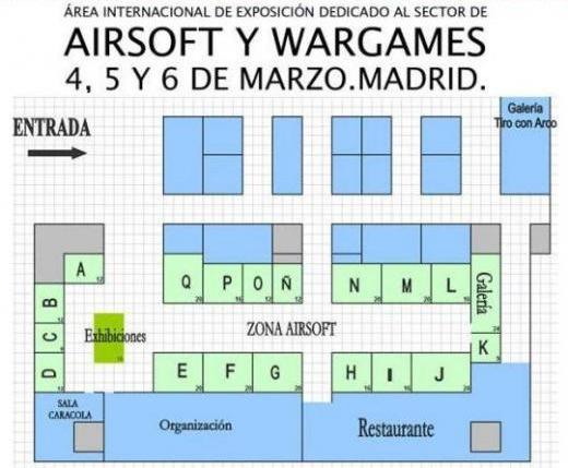 feria airsoftpro Madrid