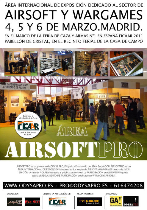 feria airsoft en Madrid