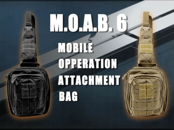 5.11 TACTICAL Mochila RUSH MOAB 6
